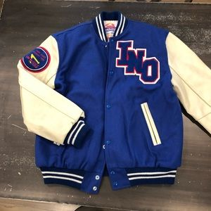 Vintage In N Out Burger Letterman Jacket